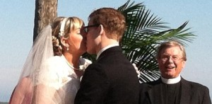 Kiser-Thacker-Beach-Wedding-Kiss